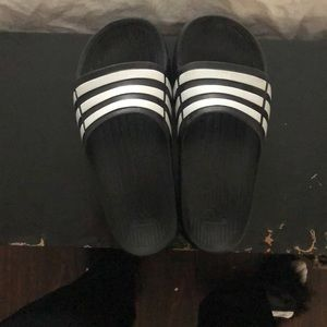 Women's adidas slides